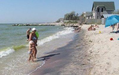 Радиоактивный песок на пляже под Мариуполем