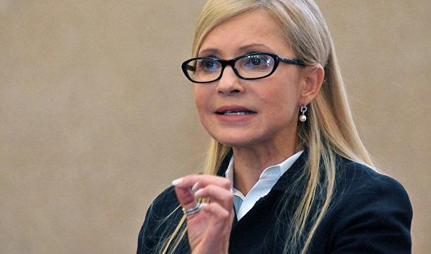 Тимошенко возглавляет президентский рейтинг