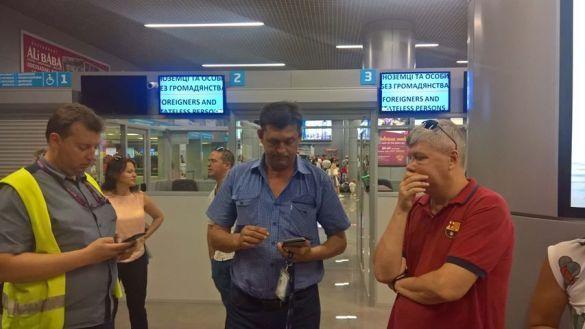 Чартер в Барселону был посажен после вылета