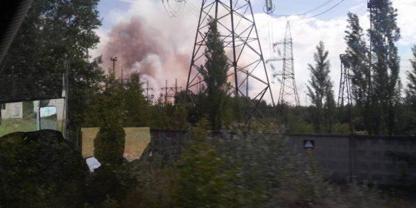 фото очевидцев пожара в Чернобыле
