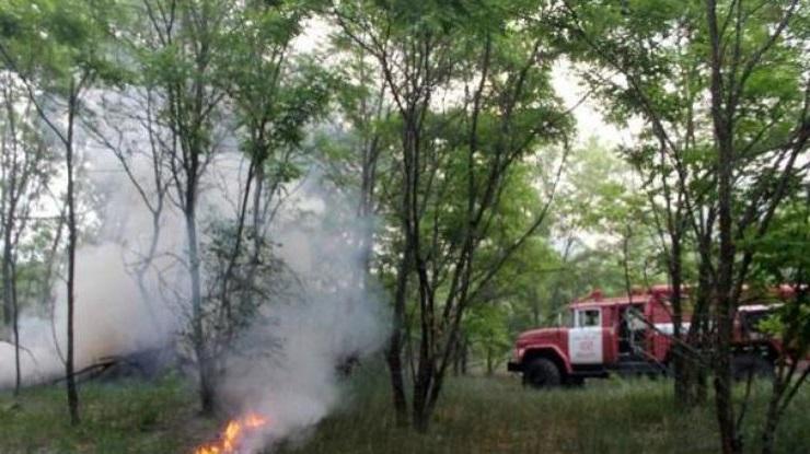 пожар в Чернобыле потушен
