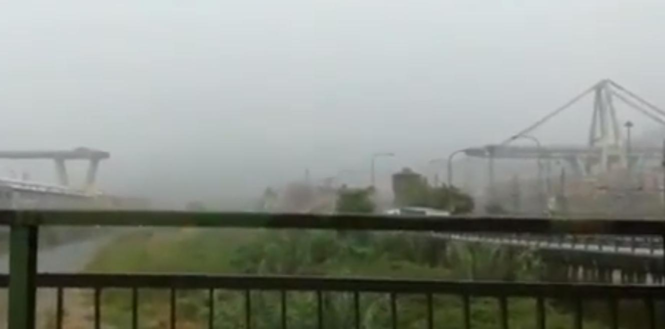 упал мост