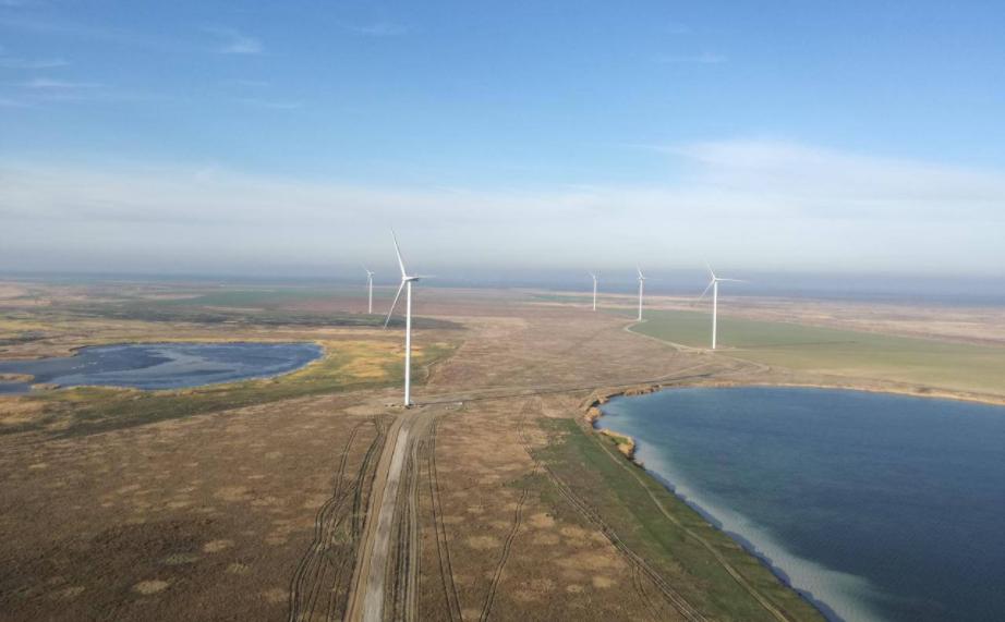 строительство 67 ветровых электростанций