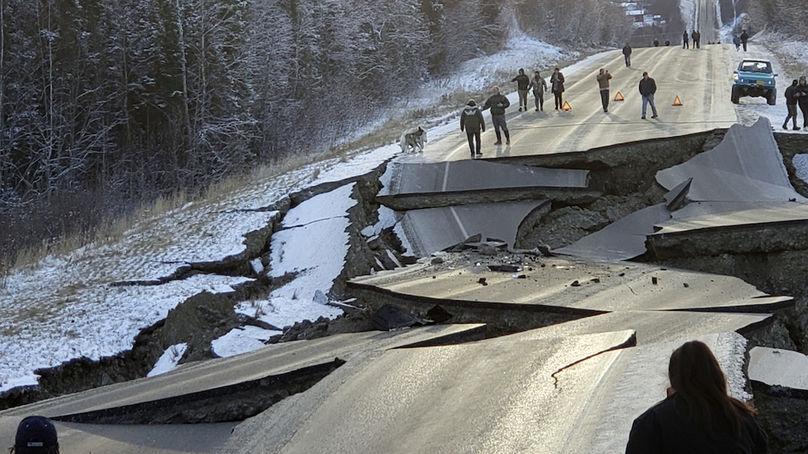 Аляска содрогнулась от 7-ми бального землетрясения