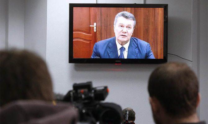 Януковича осудили - 13 лет тюрьмы