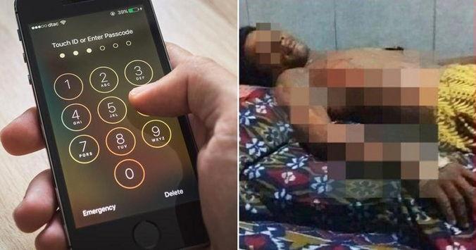в Индонезии женщина сожгла супруга