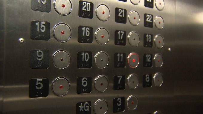 Киевский лифт чуть не убил беременную