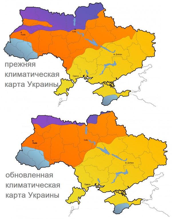 изменение климата Украины безвозвратно